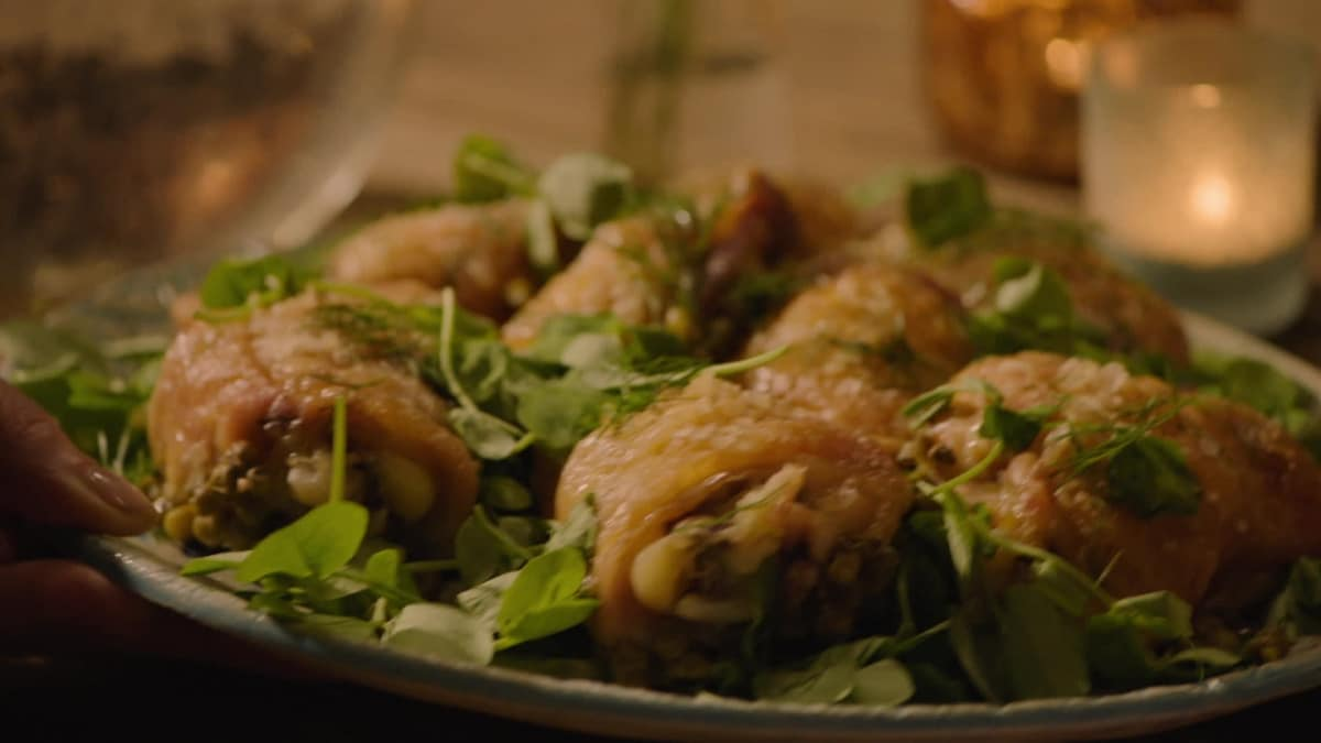 Nigella Lawson is back with a brand new series showcasing simple recipes.