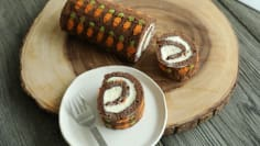 Chocolate Carrot Cake Roll